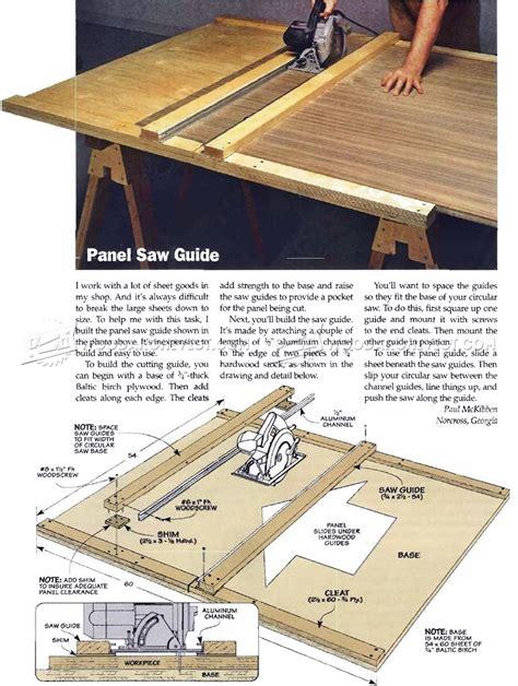 woodworking guide diy circular saw guide woodarchivist