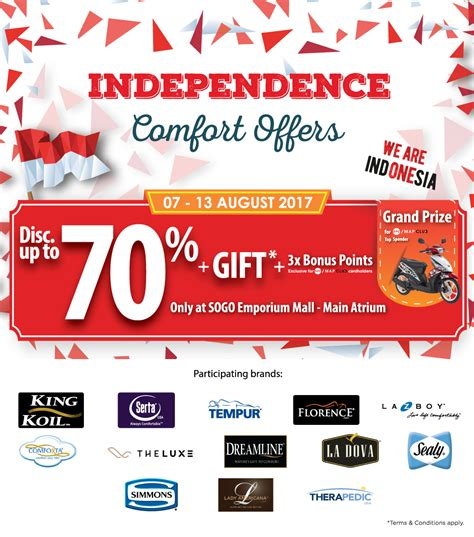 comfort offers sogo independence comfort offers