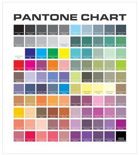 pantone color chart pantone color chart