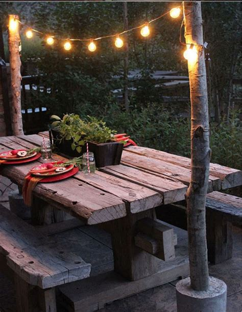 Diy Patio Lights 20 Irresistible Diy Outdoor Lighting Ideas To Improve The Look Of Your Exterior