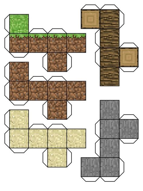 print out paper crafts minecraft paper cut out printable fcbihor