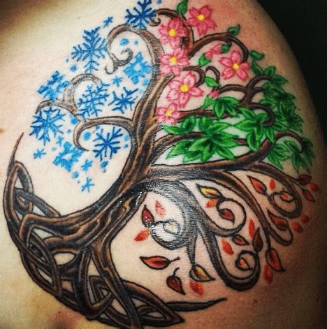 family tree tattoo ideas for men and women