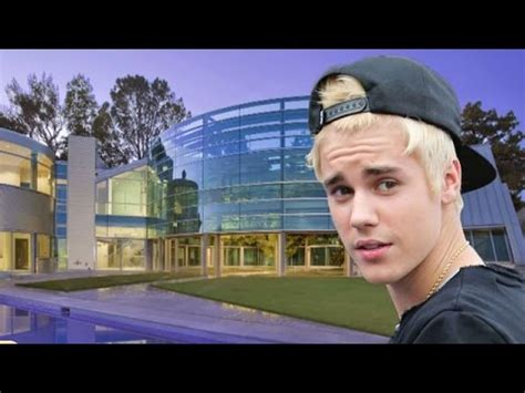 justin bieber house justin bieber s new glass house 2015 2016 youtube