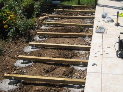 comment poser une terrasse en bois 4357 terrasse bois a poser