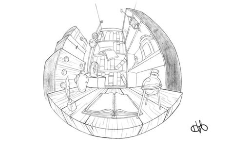 0 Point Perspective Drawing by 5 Point Perspective Helen Ahlberg Perspective