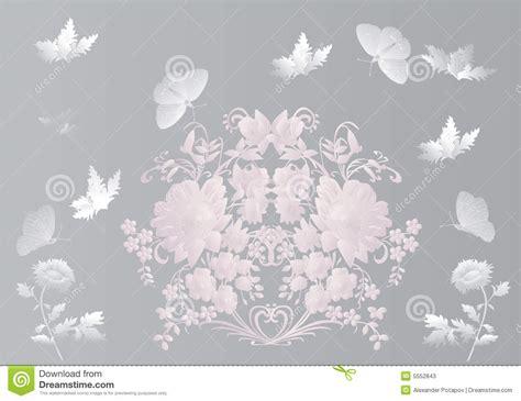 imagenes de flores grises mariposas y flores grises fotos de archivo imagen 5552843