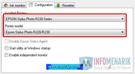 reset printer r230 blinking cara mengatasi pesan error printer epson r230 blinking
