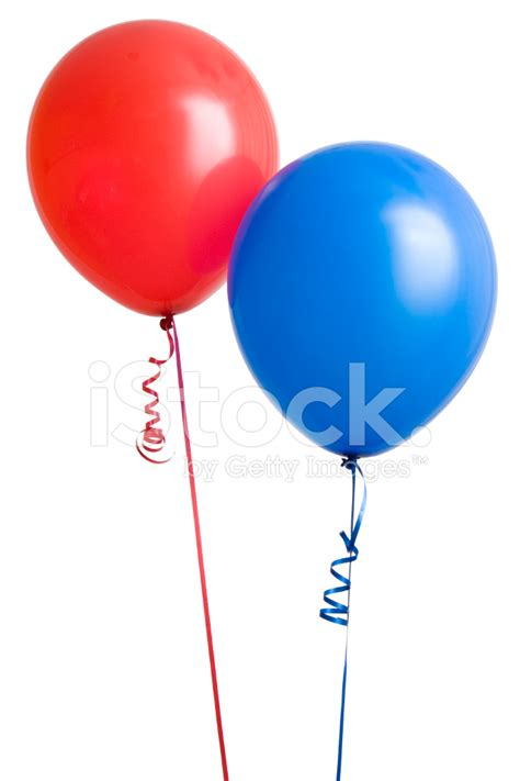 4th Of July Home Decorations red and blue balloon stock photos freeimages com