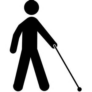 Blind Symbol File Visually Impaired Icon Svg Wikimedia Commons
