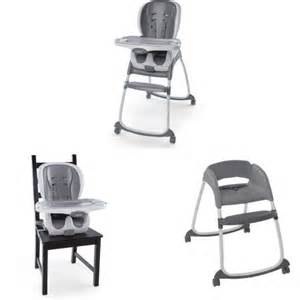 ingenuity trio 3 in 1 smartclean high chair slate
