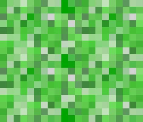 pattern texture minecraft minecraft creeper tileable fabric by willbradley on