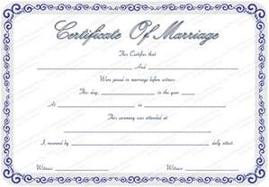 Free Editable Certificates Templates Marriage Certificate Template Certificate Templates