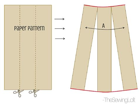 sewing pattern drafting paper simple maxi skirt diy the sewing loft bloglovin