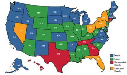 tax deed states map tax lien investing simple diy investing for 18 returns