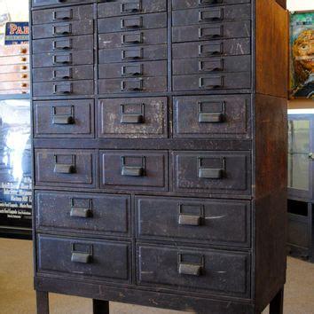 vintage metal drawer storage cabinet vintage industrial globe stacking metal from