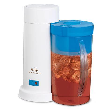 Coffee Tea Maker iced tea maker 2 qt blue at mrcoffee