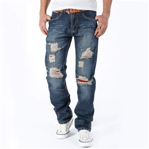 jeans style 2015 men 2015 fashion mens stylish design straight slim fit biker