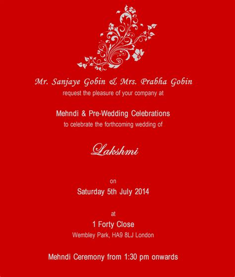 hindu wedding invitations south africa indian wedding invitation cards templates 044
