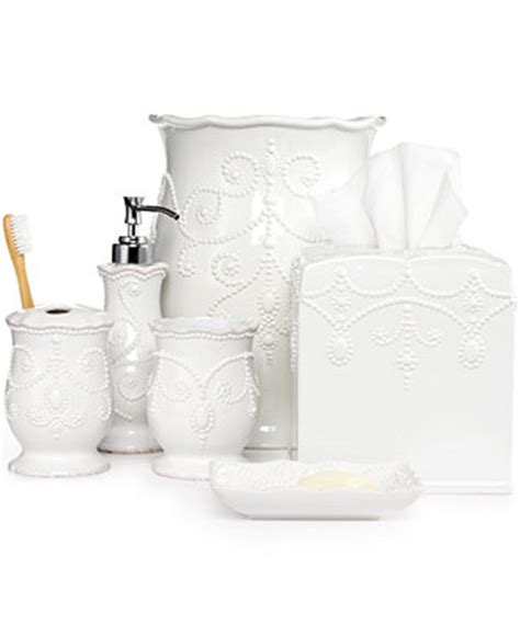 lenox bathroom accessories lenox bath accessories french perle collection bathroom