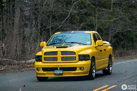 Dodge RAM SRT 10 Quad Cab Yellow Fever Edition   20 March