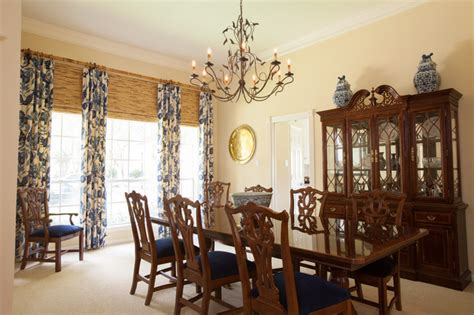 Colonial Dining Room by British Colonial Traditional Dining Room Houston