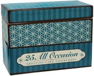 paper magic box of 25 assorted all occasion embellished greeting cards ebay