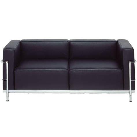 bauhaus sofa lc3 sofa 2 seater ds 32 le corbusier bauhaus classic