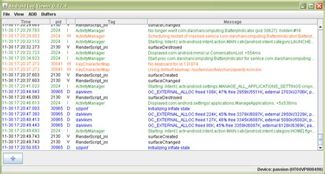 android logcat android android logcat filter in eclipse
