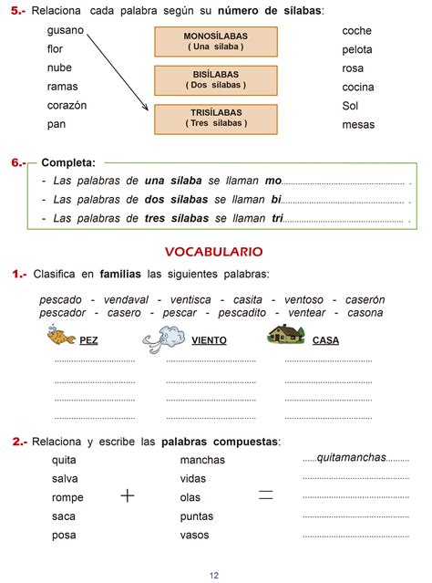 cuaderno de repaso matem 225 ticas de primero ejercicios lengua 6 primaria slideshare cuaderno de repaso de lenguaje para 3 186 curso de primaria