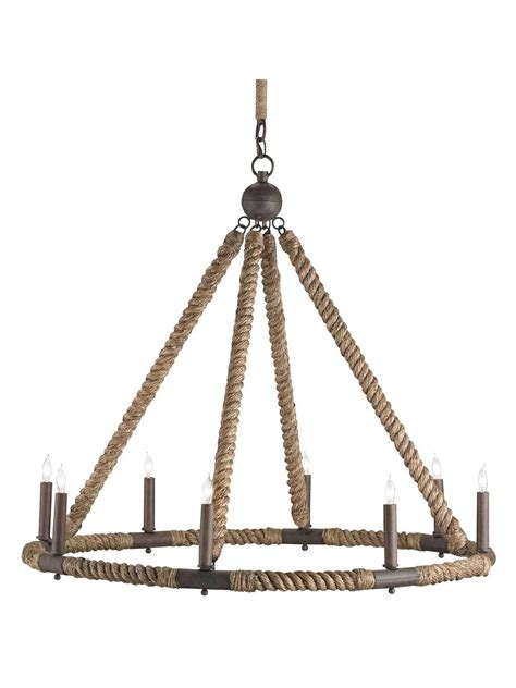 nautical chandelier nautical rope chandelier cottage home 174