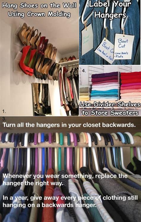 Shower Curtain Hangers Hooks - smart closet organizing ideas alldaychic