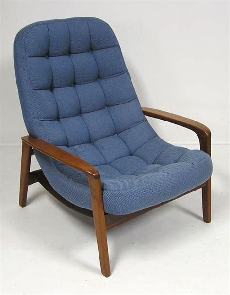 chair w ottoman teak lounge chair w ottoman hoopers modern
