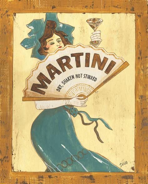 martini painting martini dry by debbie dewitt