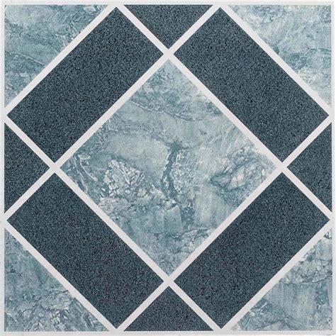 vinyl floor tiles  adhesive peel  stick blue  bathroom flooring  ebay