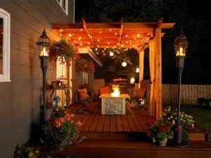 Patio Lighting Options Patio Accessories Ideas And Options Outdoor Design Landscaping Ideas Porches Decks