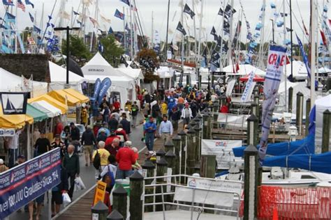 annapolis in water power boat show bs crowds atlantic cruising yachts llc