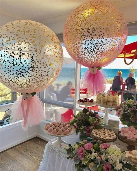 decoracion globos decoraciones con globos y tul dale detalles