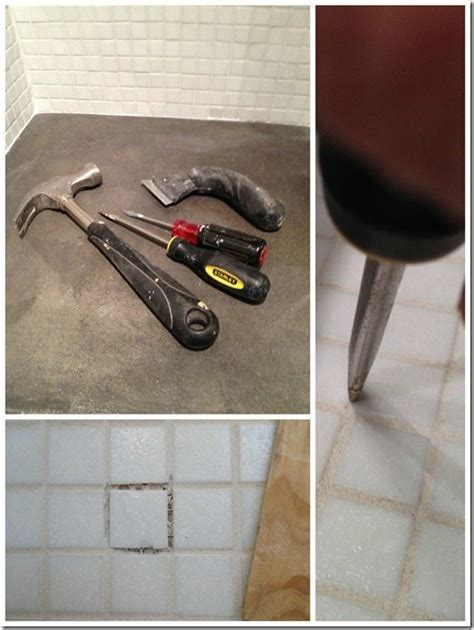 how to replace bathroom grout how to replace a tile