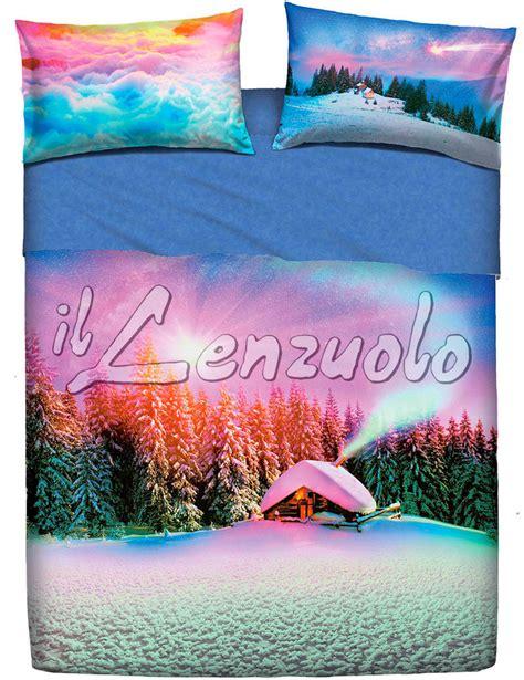 lenzuola copriletto lenzuola copriletto una piazza e mezza bassetti snowly