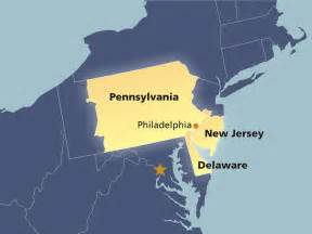 map of america states philadelphia map of the third federal reserve district