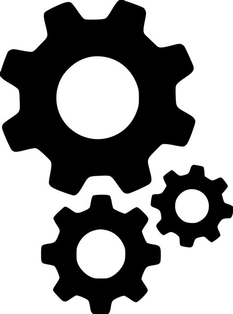 Gears Cogs Settings Options Setting Configure