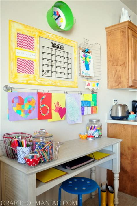 kids homework station kids art and homework station