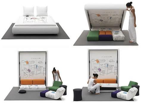 1 Bedroom Apartments Las muebles multifuncionales