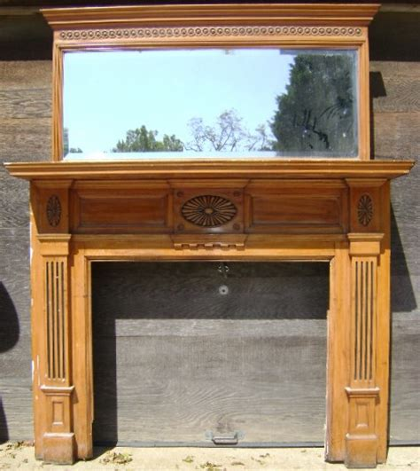 Salvaged Fireplace Mantels For Sale by Vintage Fireplace Mantel Recycling The Past