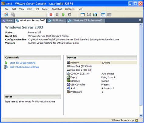 vmware server console 301 moved permanently