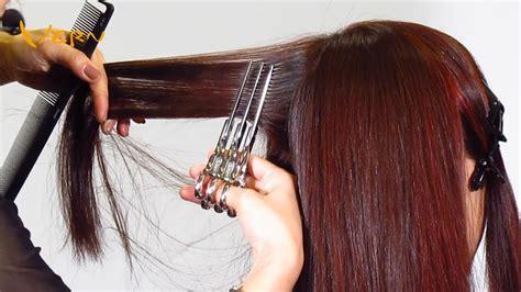 how to cut women s hair step by step 2014harajuku medium women haircuts by cherry 原宿系女中長對比髮型