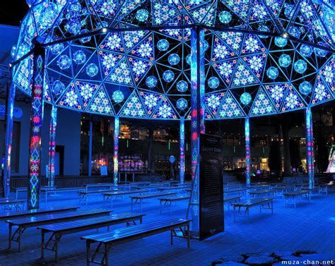 tokyo christmas illuminations galaxy dome plus a travel tip