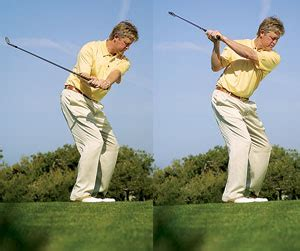 golf swing too flat flaws and fixes 2002 golf tips magazine