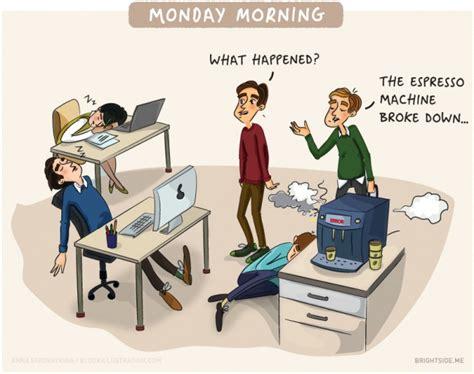 lavoro ufficio illustrazioni descrivono la vita lavoro in ufficio
