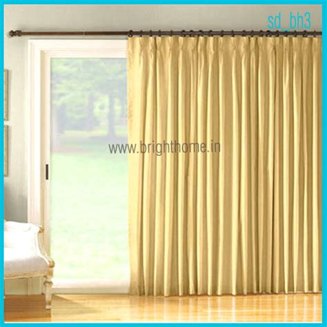 Living Room Sliding Door Curtains Home Textile Products Sliding Door Curtains